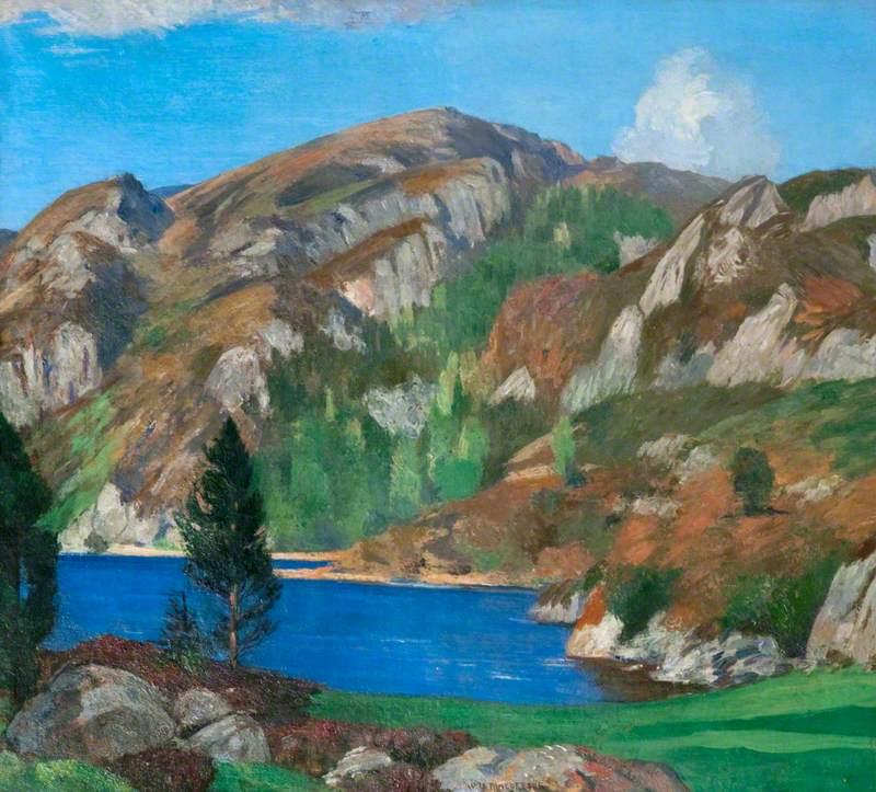 Loch a' Ghille Ghobaich, Morar