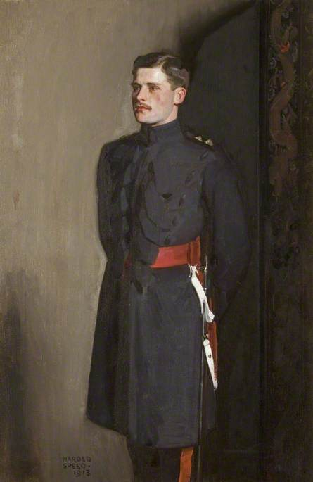 Edmund Antrobus (1887–1914), in the Uniform of a Grenadier Guard
