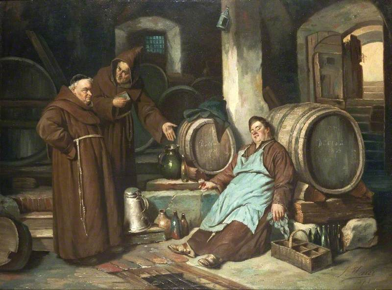 Monks in a Cellar