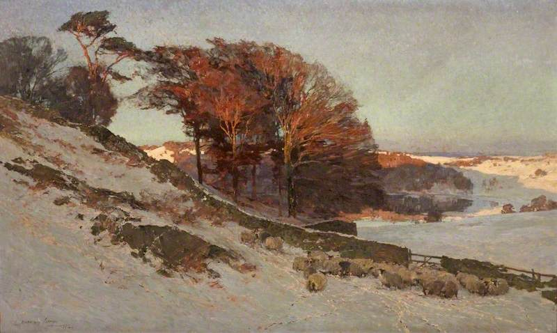 Early Snow, Westmorland, Cumbria