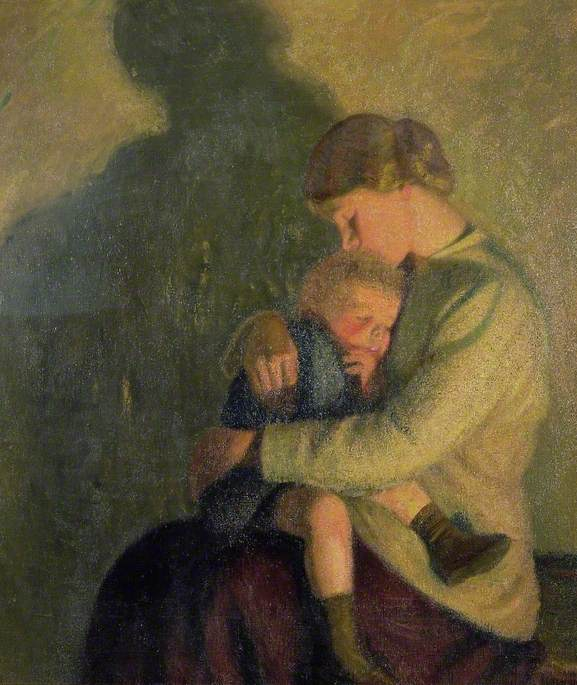 Mother and Child, Candlelight