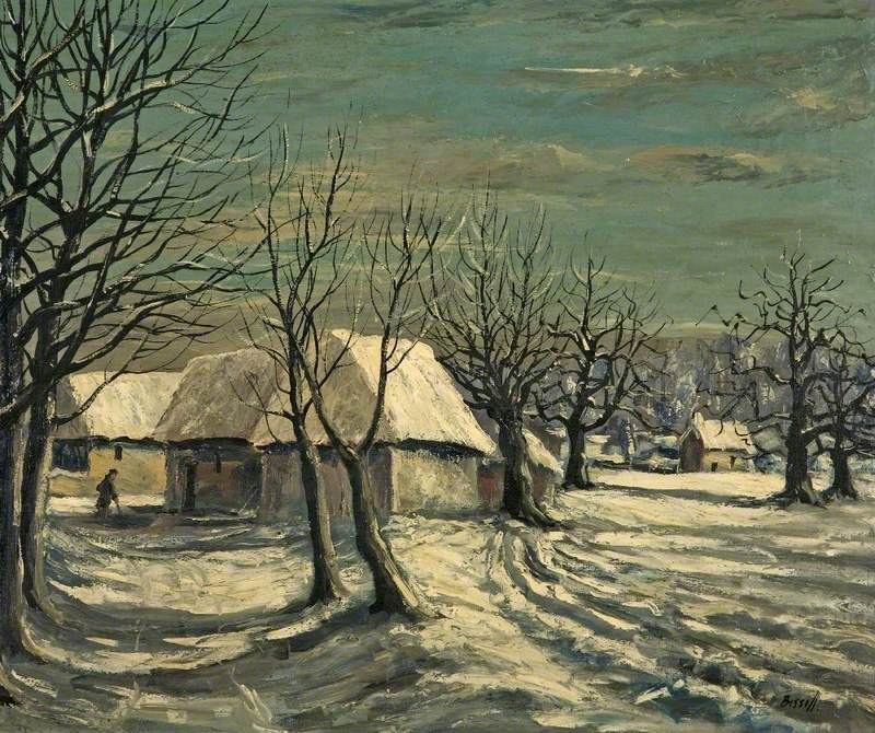 Winter Landscape, Snow in Wiltshire