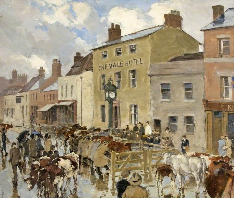 Cattle Market near Vale Hotel, High Street, Cricklade, Wiltshire