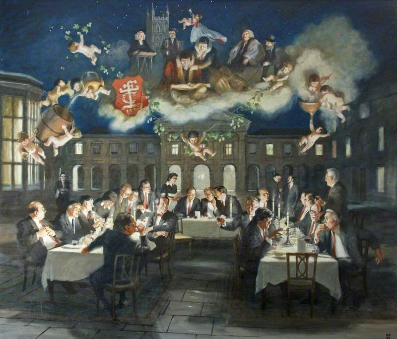 The Old Cryptians' Cambridge Dinner, May 1986