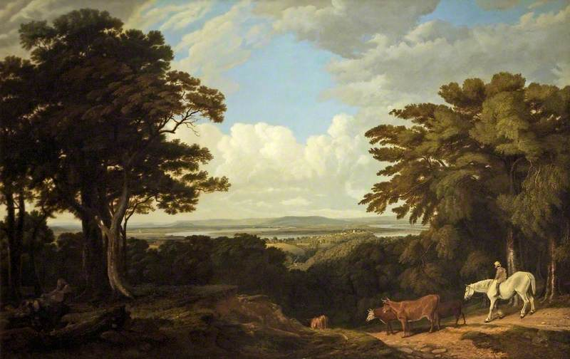 Newnham-on-Severn, Gloucestershire, from Dean Hill