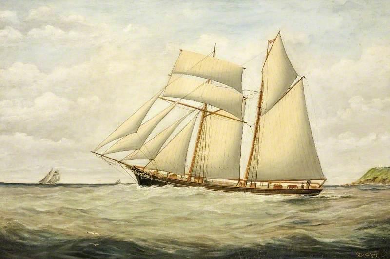 The Schooner 'Saltram'