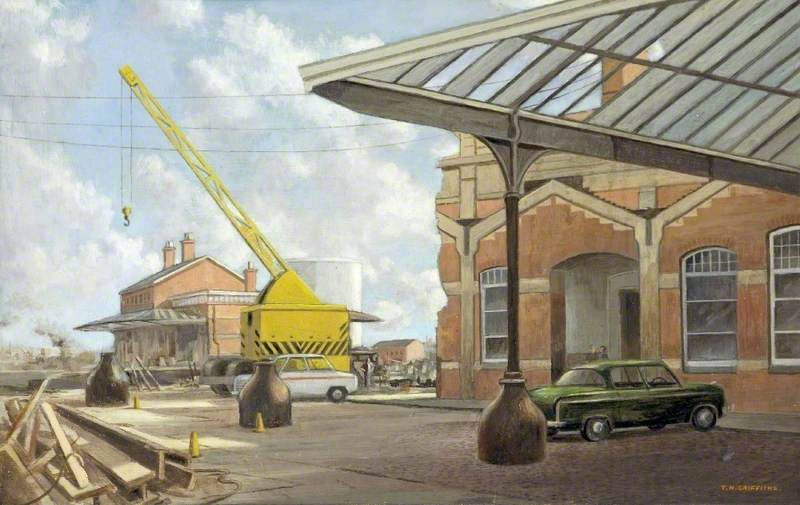 Last Days of the Old London, Midland and Scottish Station, Gloucester