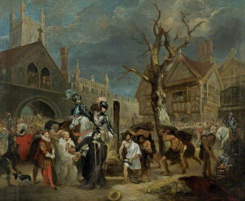 The Martyrdom of Bishop Hooper