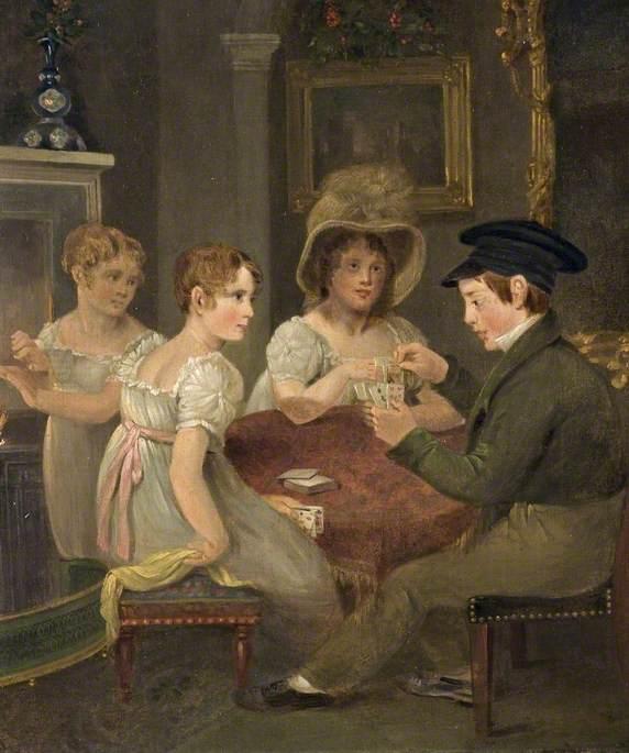 Mrs William Cornock (1748–1834), and Her Three Children