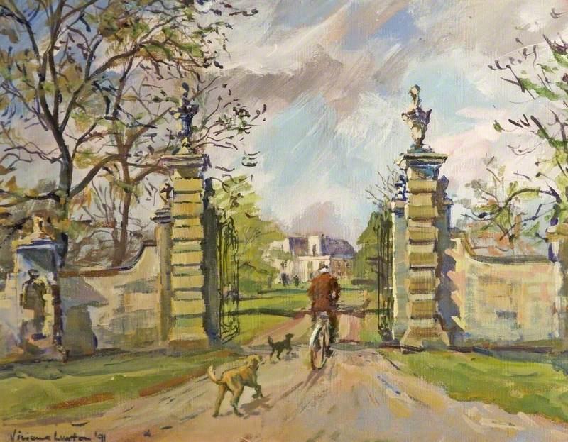 Side Entrance, Frampton Manor, Gloucestershire