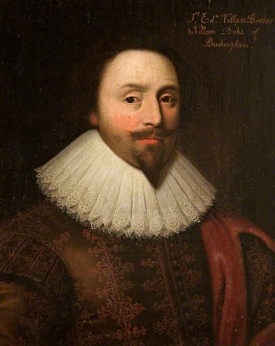 Sir Edward Villiers (c.1585–1626), Half Brother to the 1st Duke of Buckingham