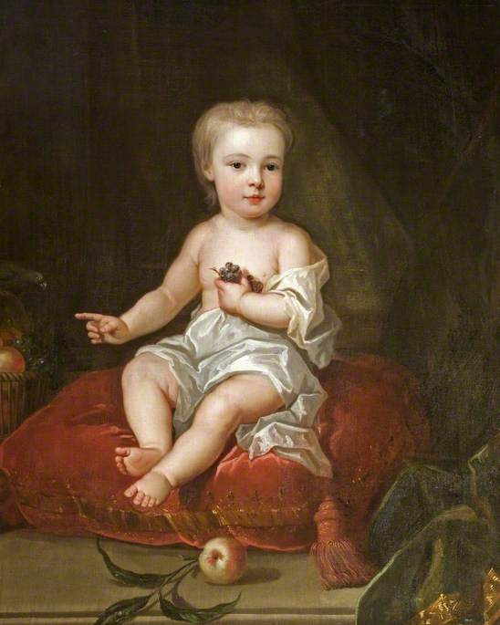Holles St John (1710–1738), as a Child, Youngest Son to Henry, 1st Viscount St John and Angelica Magdalena