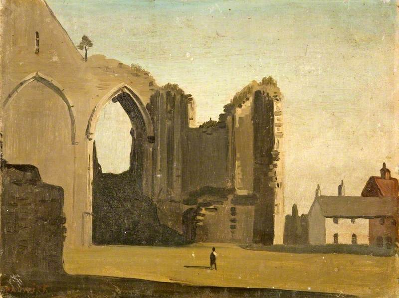 Ruins of Winchelsea Church, East Sussex
