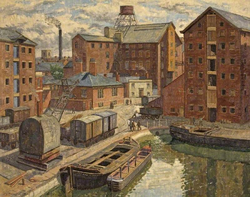 View of Gloucester Docks