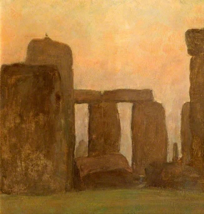 Stonehenge at Sunrise, Wiltshire