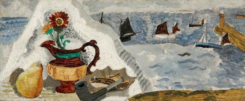 Still Life with Boats, St Ives, Cornwall