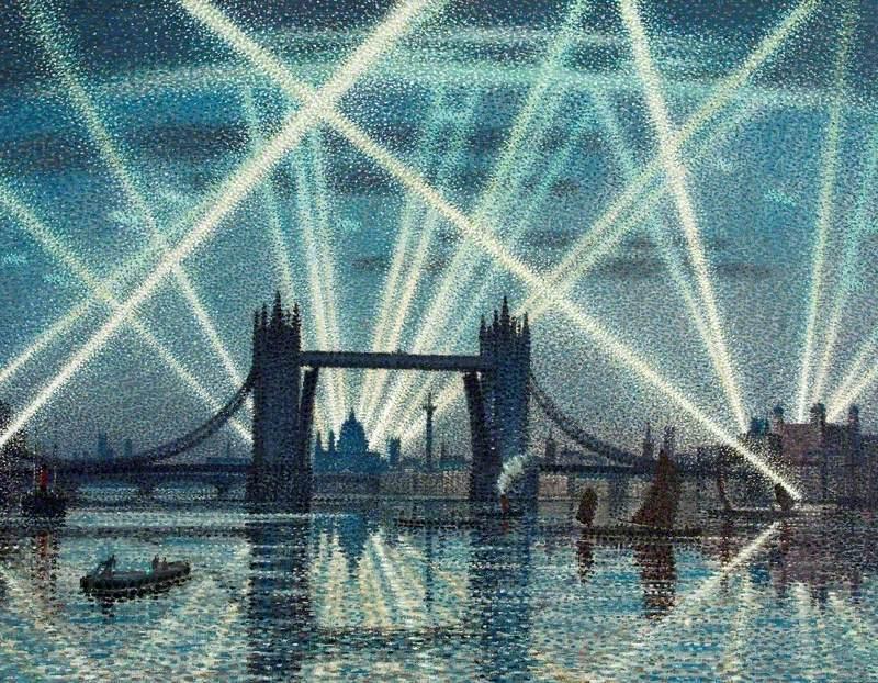 Tower Bridge, London: A War-Time Nocturne