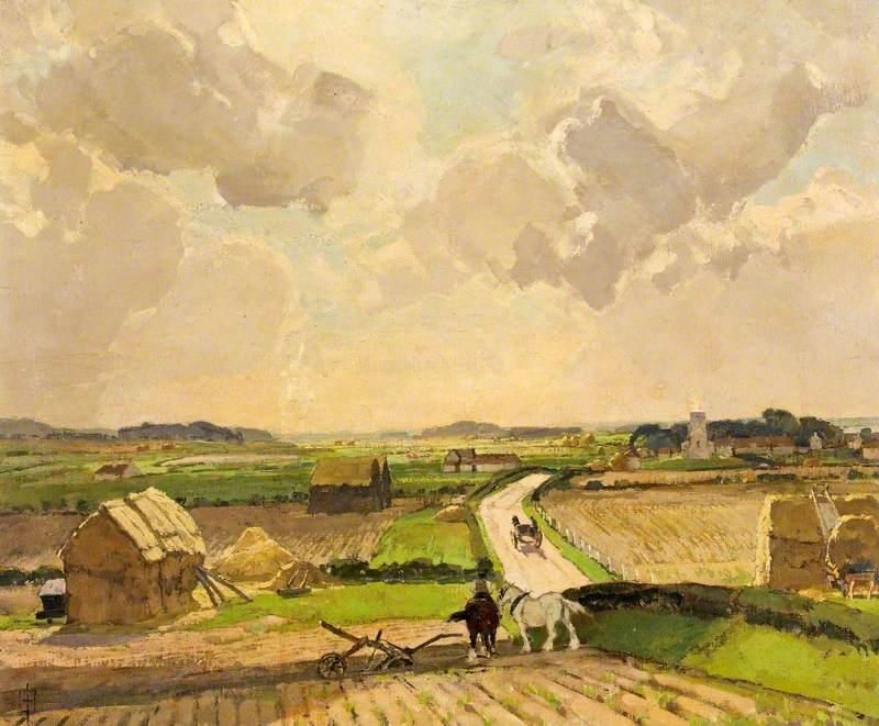 The Village of Stiffkey, Norfolk