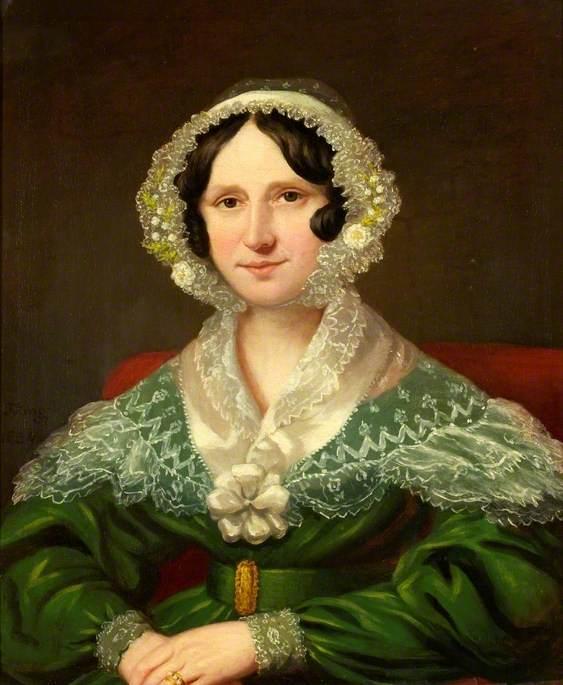 Margaret Stancomb, née Salter, Wife of William Stancomb
