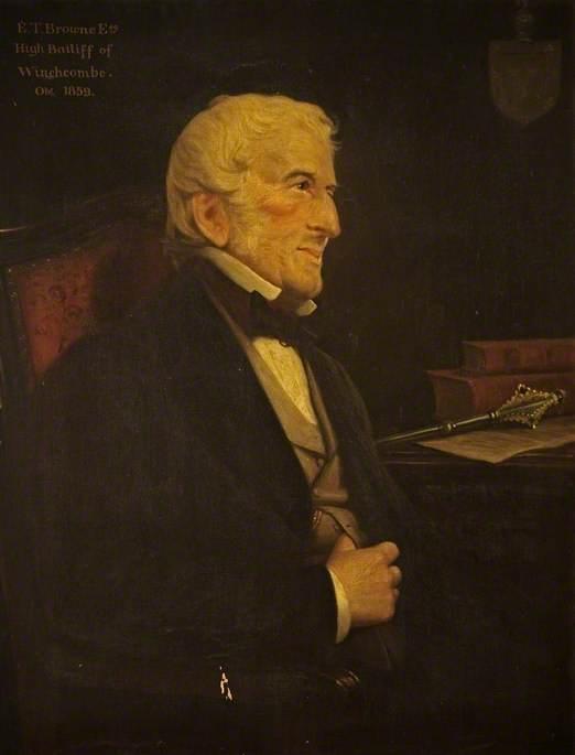 Edmund Thomas Browne (d.1859)
