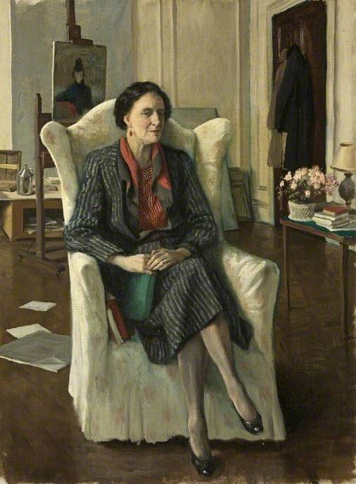 Edith Olivier (1872–1948), First Lady Mayor of Wilton