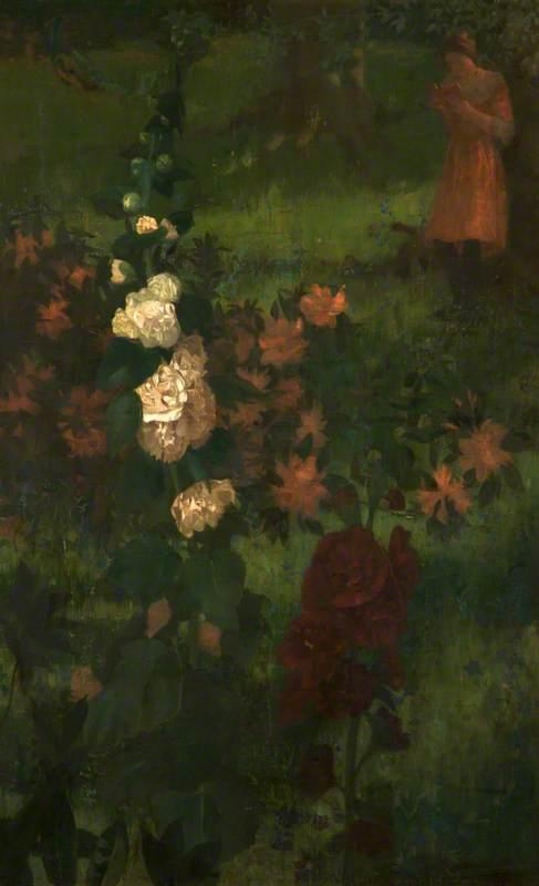 Hollyhocks (A Fairy Tale)