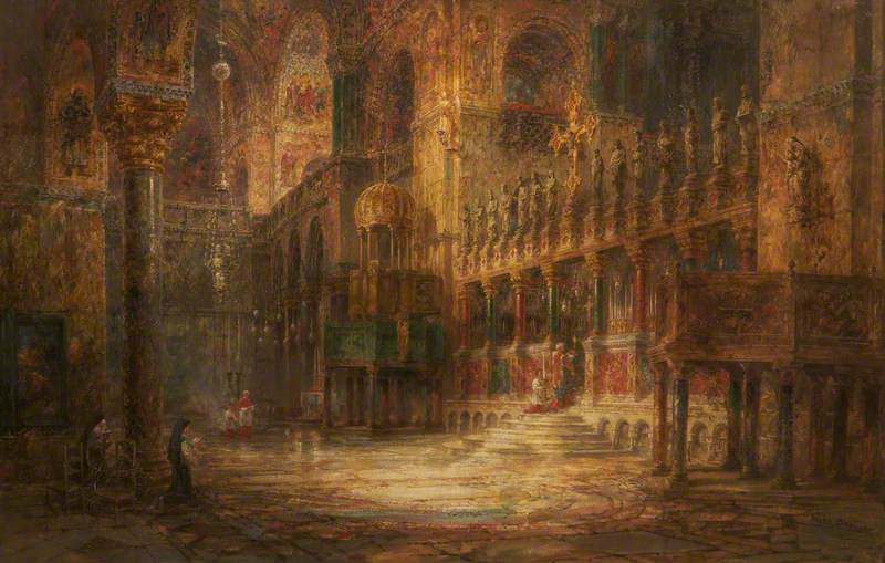 The Basilica of St Mark's, Venice, Interior