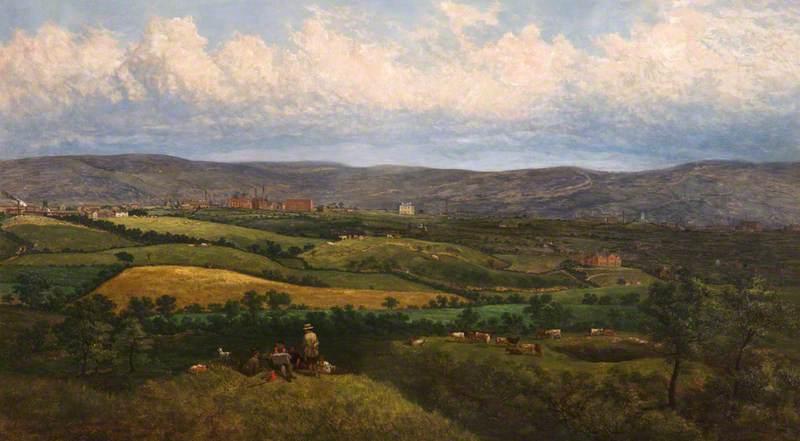 Crompton from Tandle Hills, Royton, Lancashire