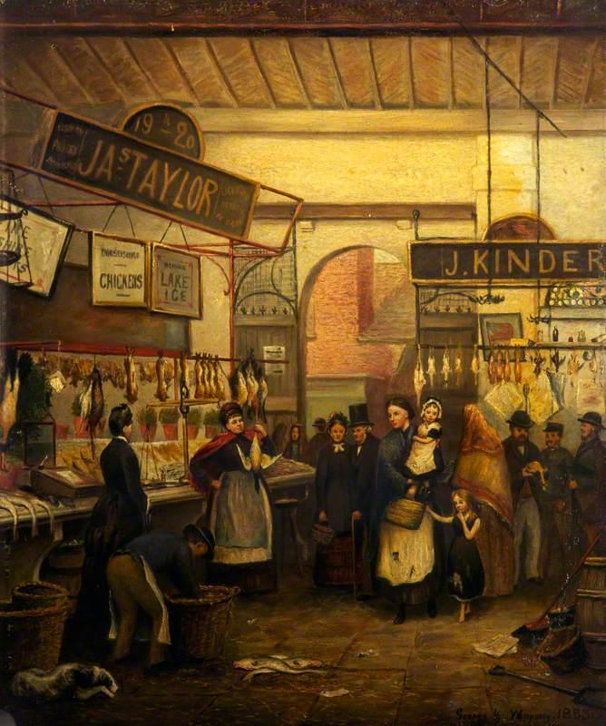 The Old Fish Market, Oldham, Lancashire