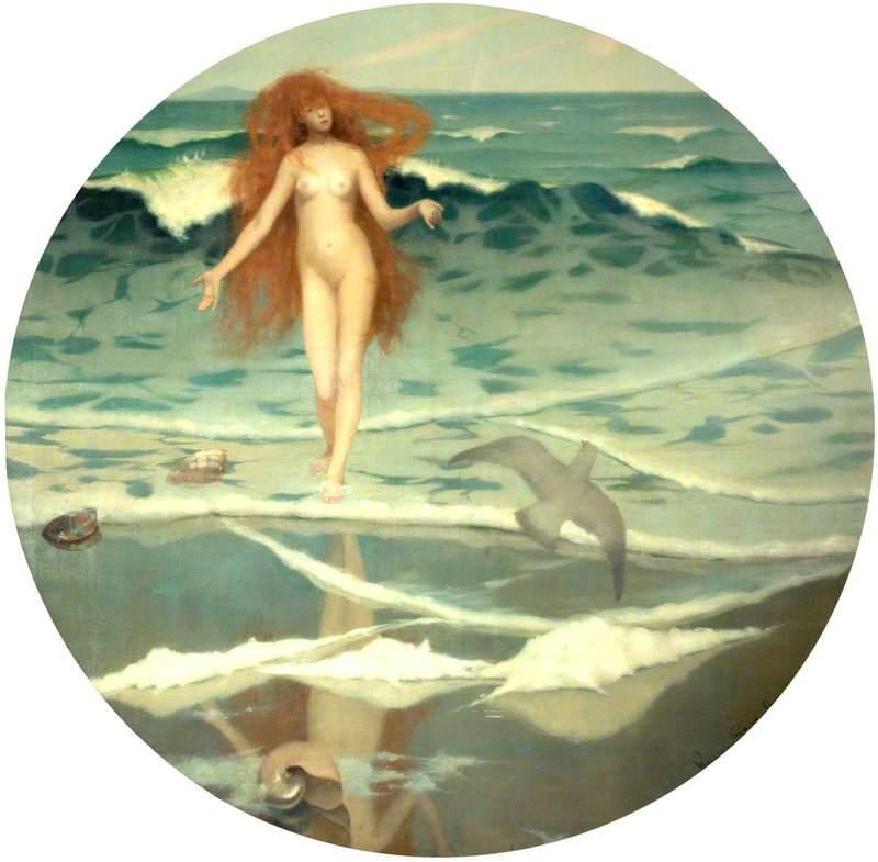 Venus Born of the Sea Foam