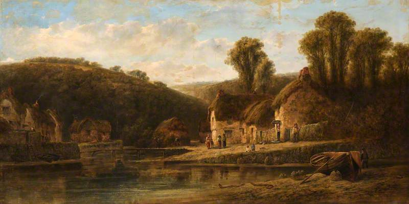 The Village at the Head of the Creek, Helford, Cornwall
