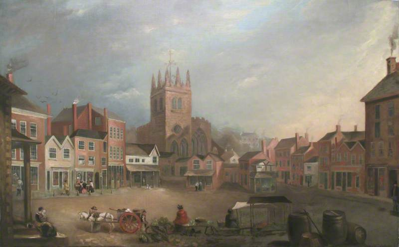 Stockport Market Place, Cheshire