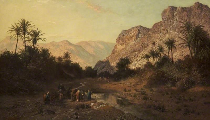Rephidim, Desert of Sinai