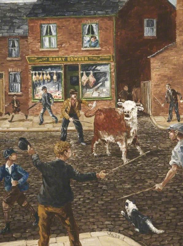 'T'bull's getten loose'