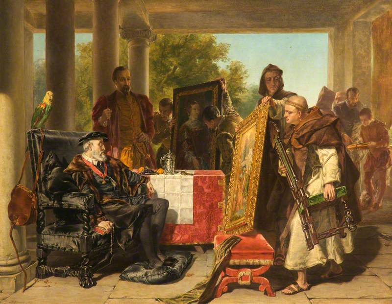 Charles V at the Monastery of Yuste