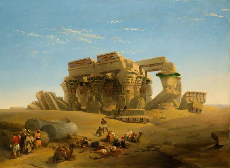 Ruins of the Temple, Kom Ombos, Upper Nile, Egypt