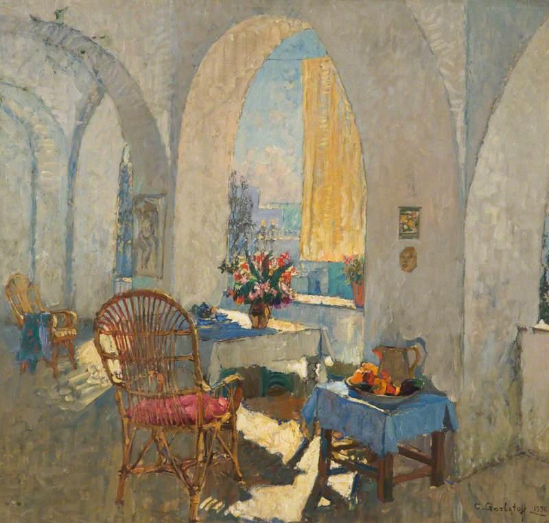 A Sunny Terrace