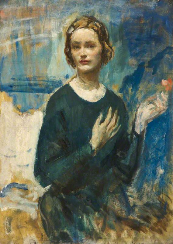 Daphne (The Honourable Daphne Baring, 1904–1986, Wife of the Sculptor)