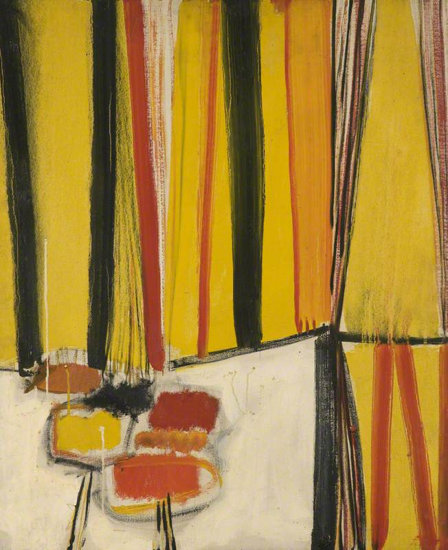Composition – Red & Yellow