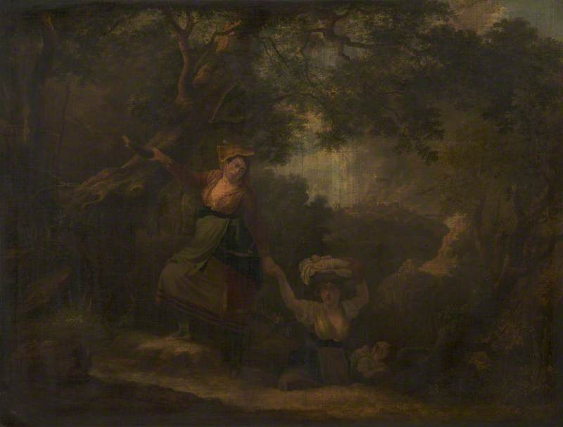 Peasants Escaping from Banditti