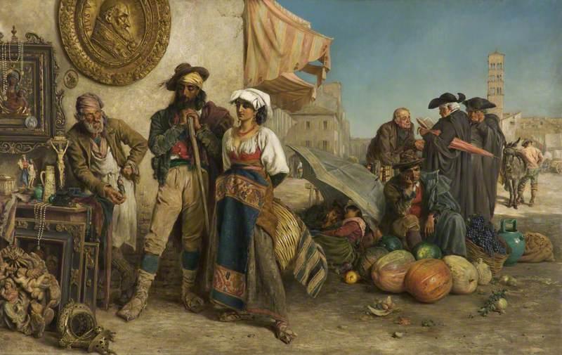 Il Madonnajo (The Image Dealer)