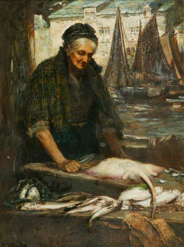 A Cornish Fishwife