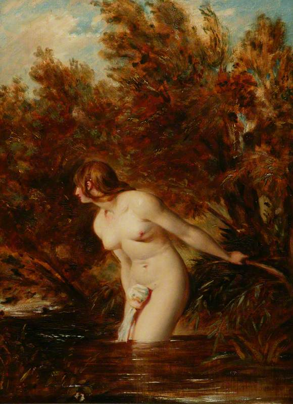 The Bather 'At the Doubtful Breeze Alarmed'