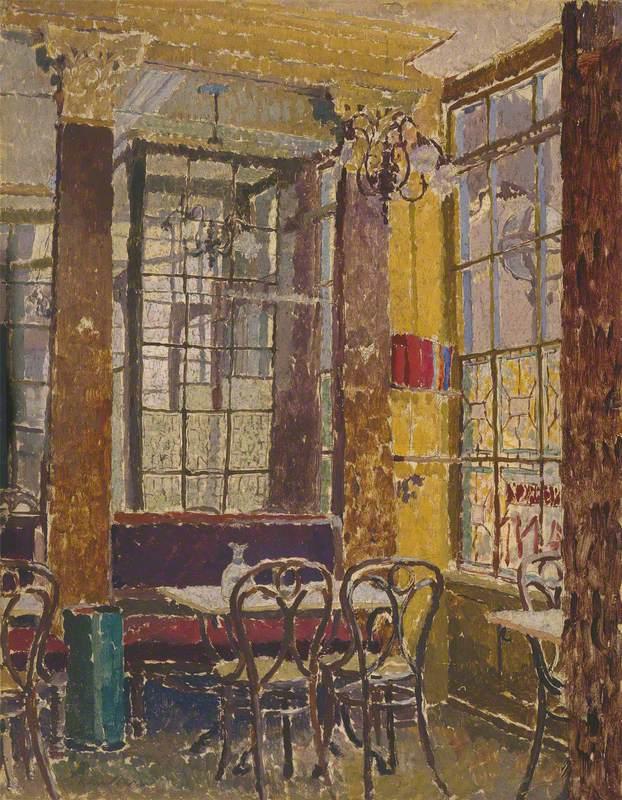Corner of Cafe Verrey