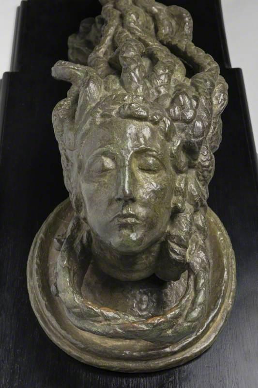 Medusa's Head Doorknocker