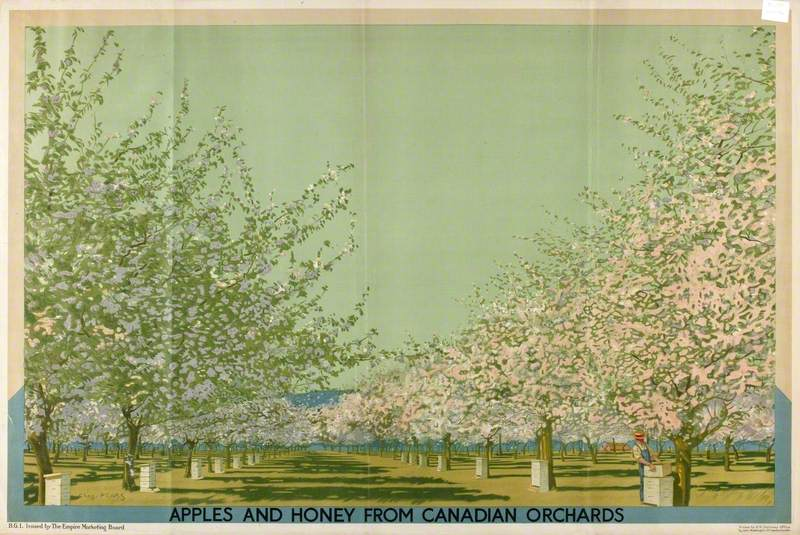 Apples and Honey from Canadian Orchards