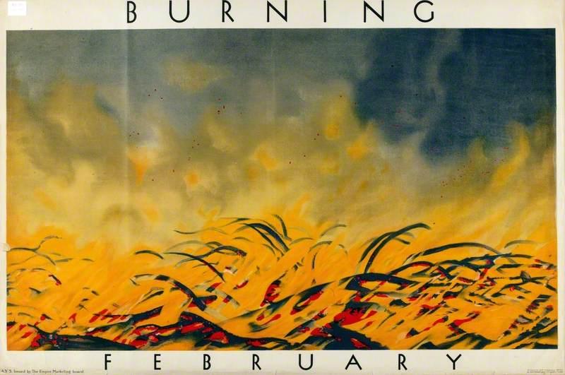 February – Burning