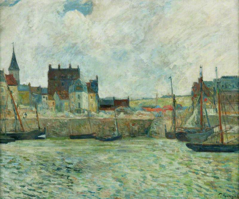 Harbour Scene, Dieppe