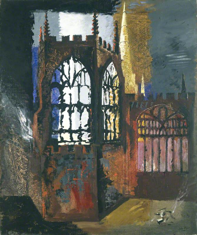 Coventry Cathedral, 15 November, 1940