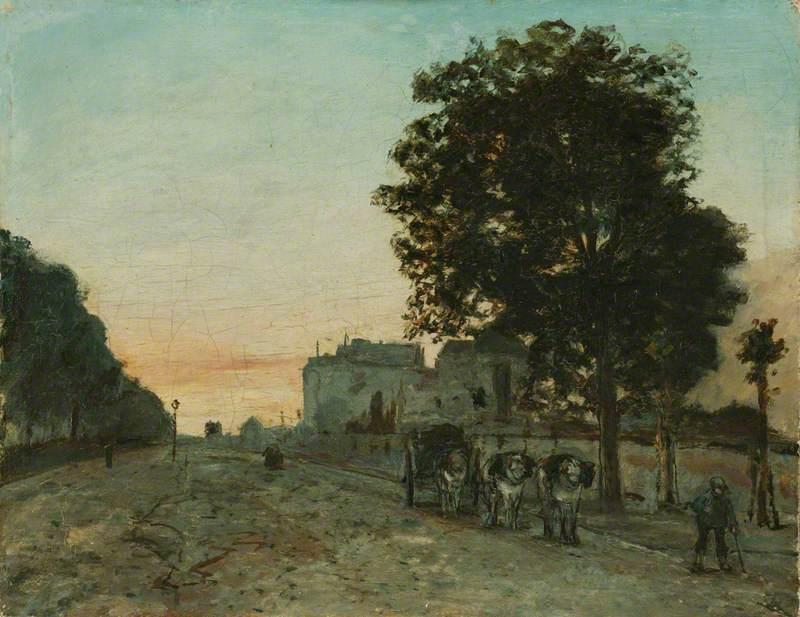 Le Boulevard Jourdan, Paris
